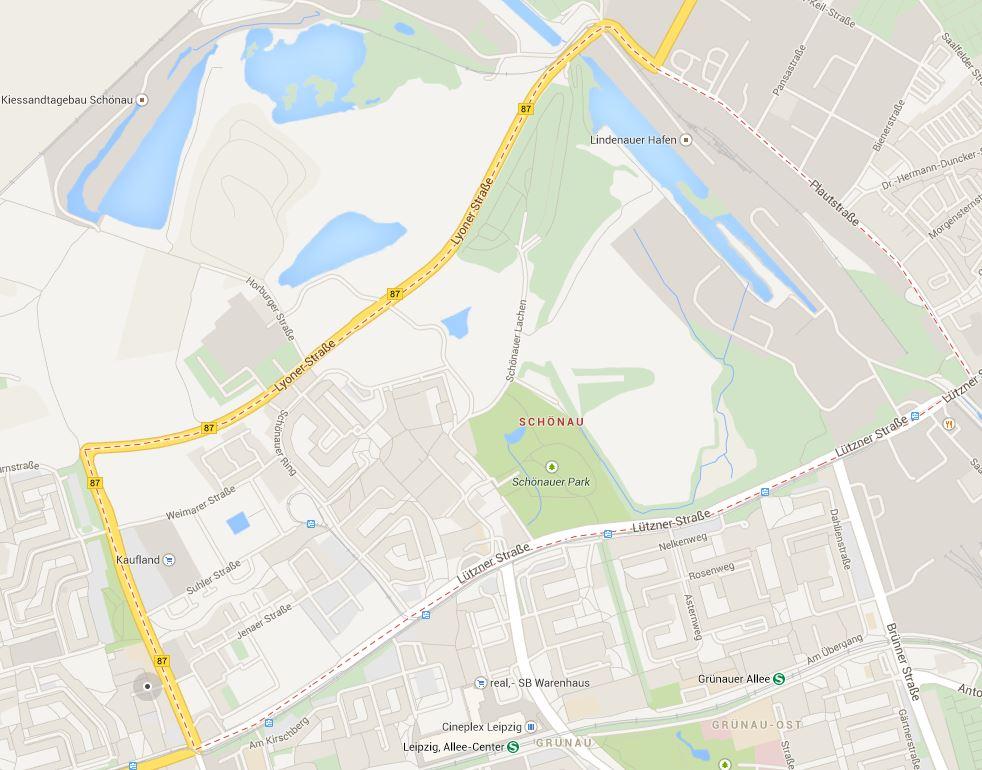 Leipzig Karte Mit Stadtteilen.Das Schonauer Viertel Leipziger Stadtteil