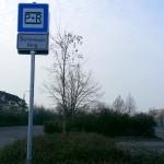 Einfahrt Park+Ride Schönauer Ring