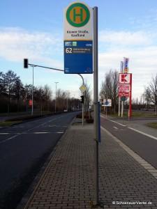 Kiewer Straße Buslinie 62