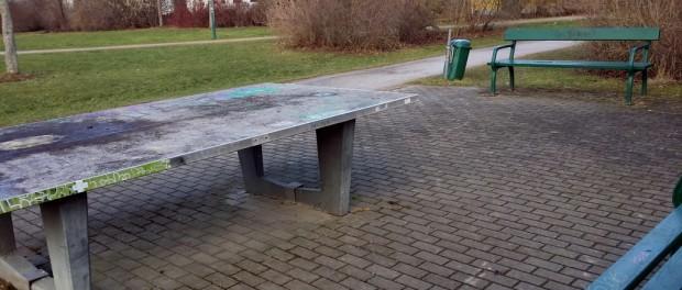 Tischtennisplatte Kiewer Straße