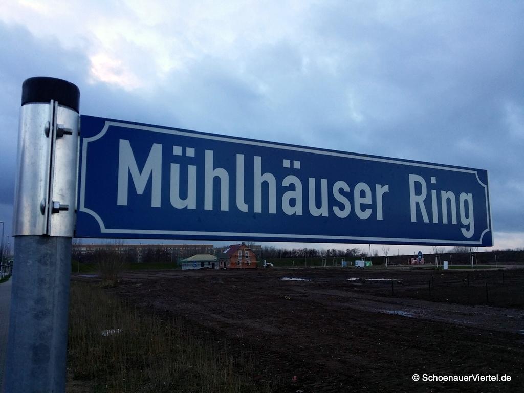Mühlhäuser Ring Straßenschild