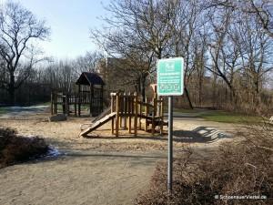 Eingang Spielplatz Schönauer Park
