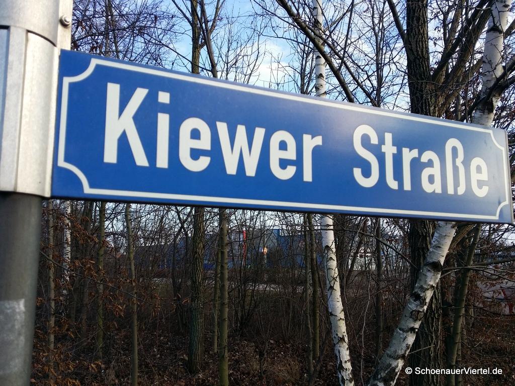Kiewer Straße Straßenschild