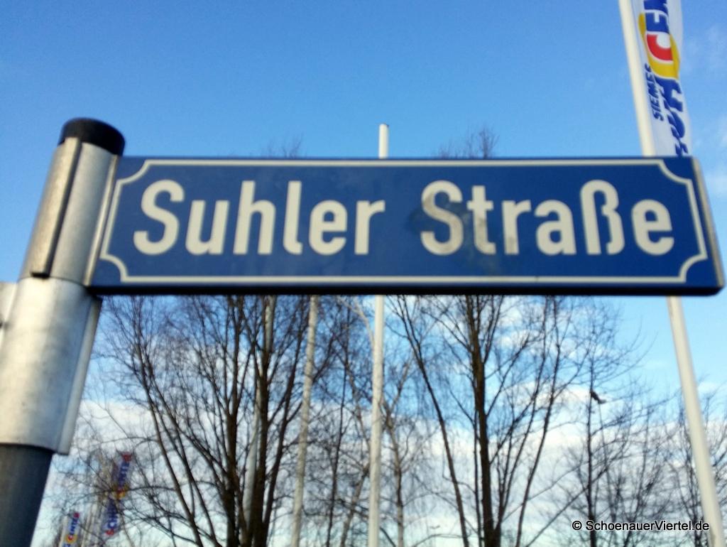 Suhler Straße Schild